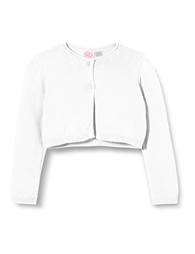 Chicco Cardigan Bimba Chaqueta Punto, Blanco (Bianco 033), 80 (Talla del Fabricante: 080) para Bebés