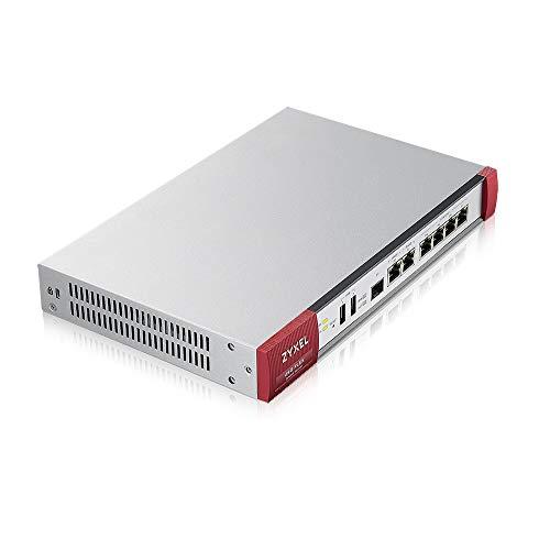 Zyxel ZyWALL Netzwerk-Sicherheit/UTM Firewall Appliance im Bundle mit Sicherheitslizenzdiensten für ein Jahr [USGFLEX200]