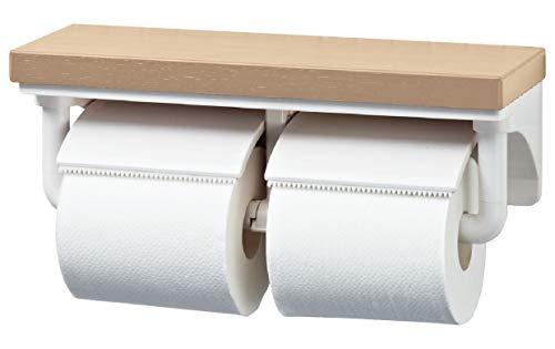LIXIL(リクシル) INAX 棚付2連紙巻器 クリエペール CF-AA64KU/LP
