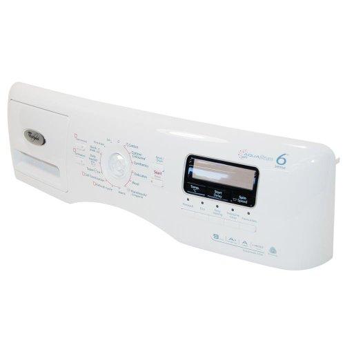 Whirlpool wasmachine systeemcontrole + handvat lade. Origineel onderdeelnummer 480111102372