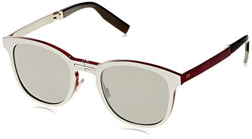 Dior Herren Al13.11 Sf 011 52 Sonnenbrille, Silber (Matte/Black)