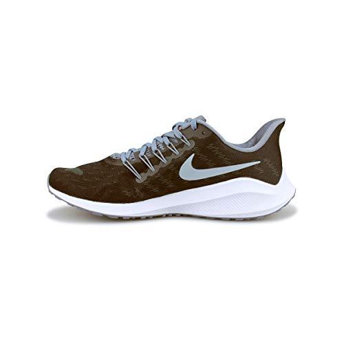 Nike Men's Air Zoom Vomero 14 Track & Field Shoes, Multicolour (Black/Bright Crimson/Armory Blue 000), 9.5 UK