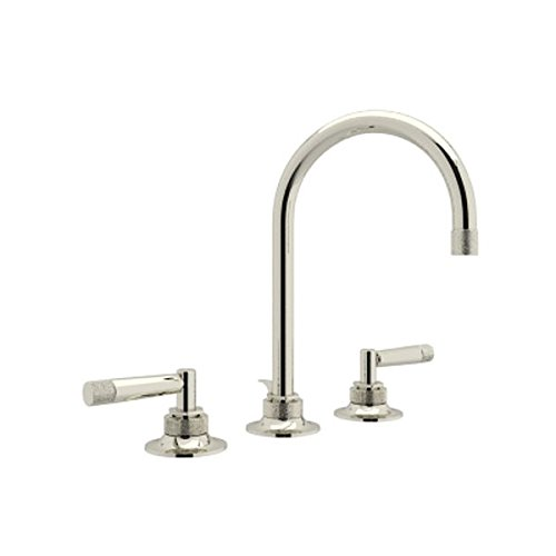 Rohl MB2019LMPN-2 Michael Berman Graceline Polished Nickel Widespread Bathroom Faucet