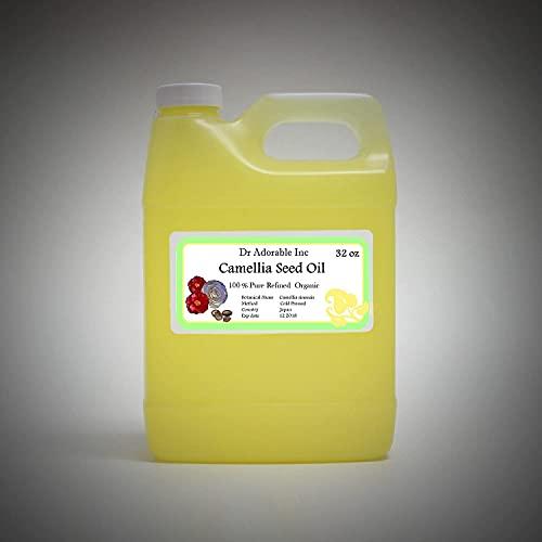 32 Oz Camellia Seed Oil 100% Pure Organic Cold Pressed