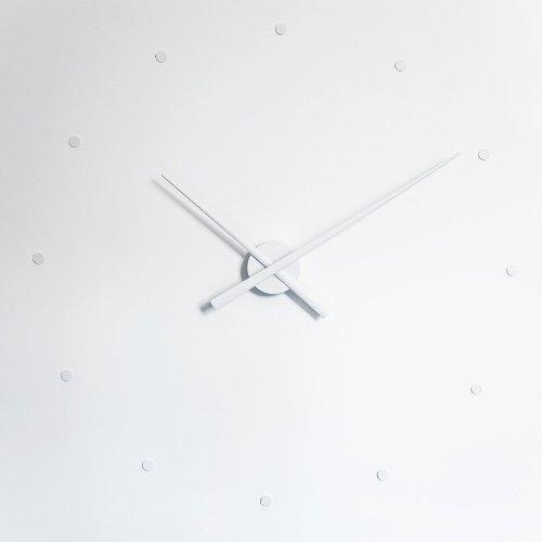 NOMON Horloge Murale OJ Blanc 80 CM Design Moderne