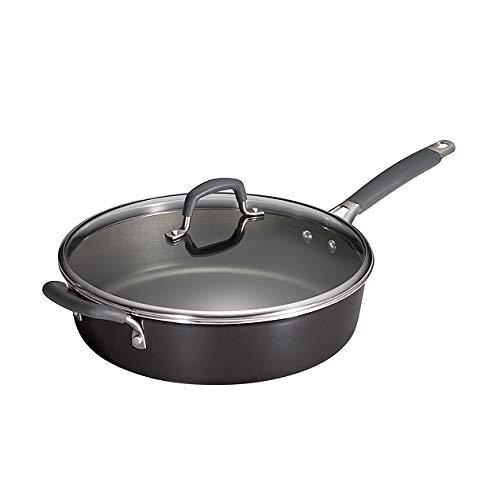 Tramontina 80151/384DS Gourmet Heavy-Gauge Nonstick Covered Deep Saute Pan, 5.5-Quart,Made in USA