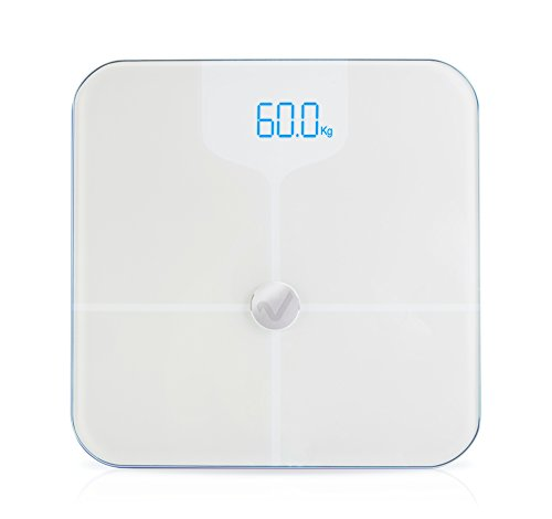 Báscula de baño Ivyhealth para medir la grasa corporal con Bluetooth