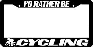 Personalized Bargain sale City I'd Rather Be Frame License Cycling Plate Product