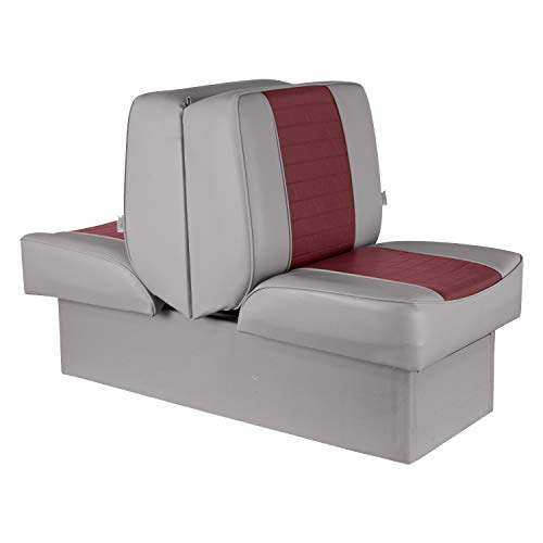Wise 8WD521P-1-661 Deluxe Lounge Seat (Grey/Red)