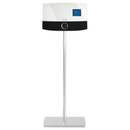 Grundig Stand Floor Ovation III inkl. 3m Netzkabel/Antennenkabel aluminium