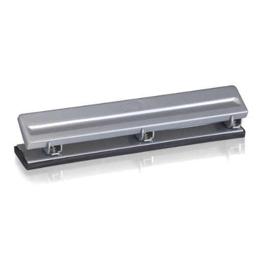 Officemate Economy 3 Hole Punch 8 Sheet Capacity Silver 90087