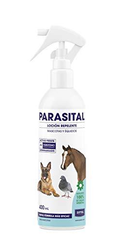 Zotal Parasital Loción Repelente Antiparasitario para Mascotas y Équidos, Actúa Contra el Mosquito Flebotomo, Producto 100% Natural, 500 ml