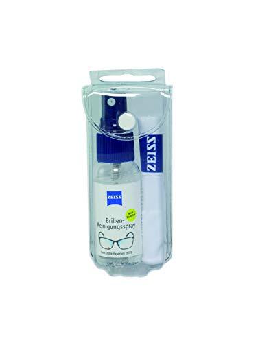 ZEISS Brillen-Reinigungs-Spray mit 30ml Inhalt inklusive einem Mikrofasertuch zur schonenden & gründlichen Reinigung Ihrer Brillengläser - alkoholfrei