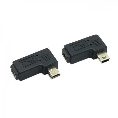 Adaptador USB, macho a hembra, U2-064-146-160-161-LIST 2 piezas de mini hembra a mini macho.