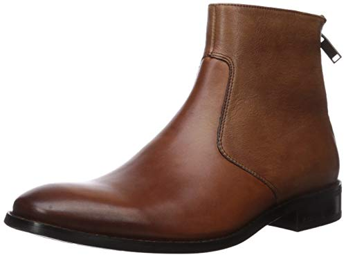 Kenneth Cole New York Men's Roy Ankle Boot, Cognac, 8.5 M US
