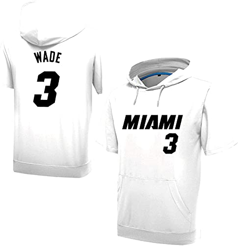 3 Wade Boy Sweve Sweat Sweat Sigs Sports Jums Otoño Primavera Luz Casual Slim Clásico Suéter Camiseta Paquete De Traje, Blanco, White - M
