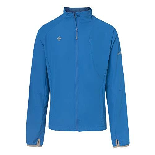 Izas Brezel Chaqueta de Running, Hombre, Azul Royal, L