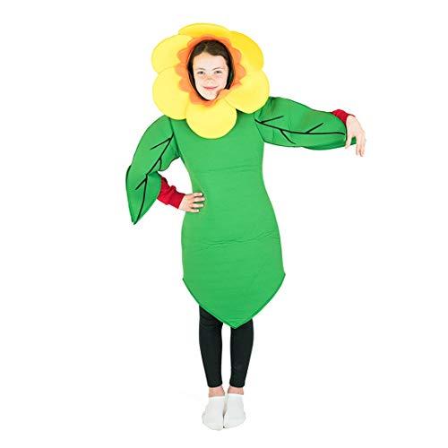 Bodysocks® Disfraz de Flor Niño