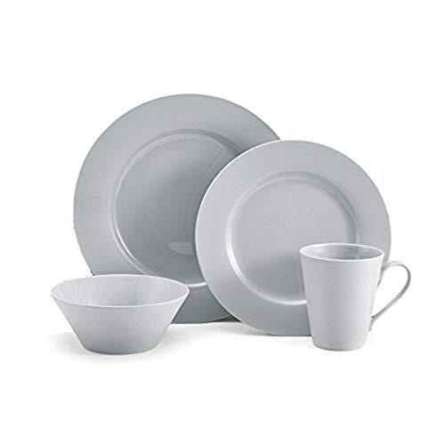 Mikasa Delray Dinnerware Set (Service For 4), Grey