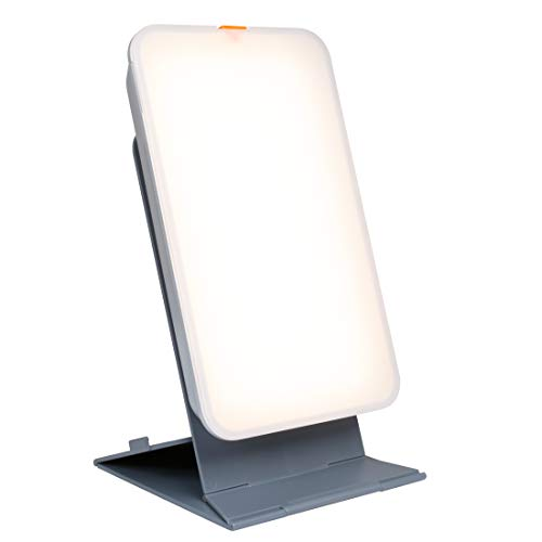 TheraLite Light Therapy Lamp - 10,000 LUX Sunlight Lamp - Compact Bright Light Sun Lamp - Energy Booster and Mood Lifter