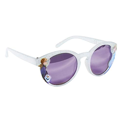 FROZEN II OCCHIALI DA SOLE bambina color argento glitter con lenti lilla - 100% UV protection