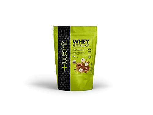 +Watt Whey Protein 90-750G Busta Doypack (Crema Nocciola)