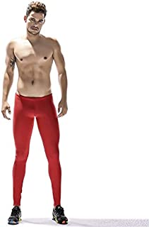 BEESCLOVER New Men's Sports Yoga Fitness Pants Long Johns Leggings Pants Training Size M,L,XL