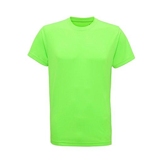 Tri Dri Herren Fitness T-Shirt, kurzärmlig (M) (Neongrün)