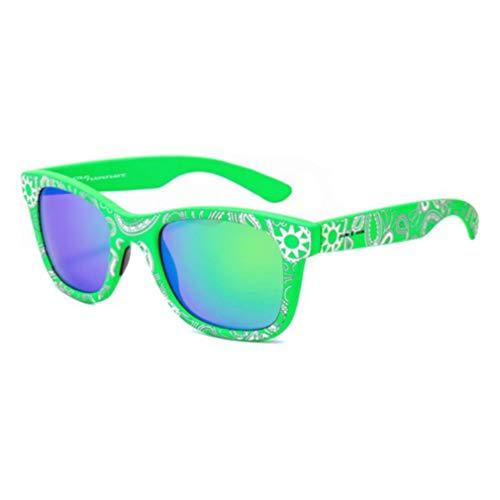 italia independent 0090GG-033-000 Gafas de sol, Verde/Blanco, 50 para Mujer