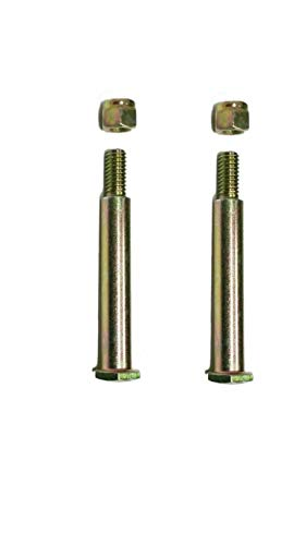 Buying Q Buying S New Replacement Deck Wheel Bolts with Lock Nuts for 137644 184219 193406 738-3056 938-3056 73930600 (2 Pack)