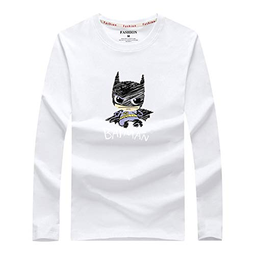 Camiseta de Manga Larga de los nuevos Hombres de la Camisa Base para los Estudiantes