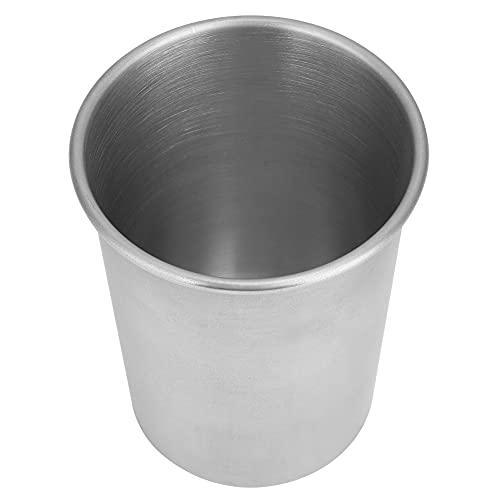 Taza de agua, taza de agua anti-caída para el hogar, dos juegos, taza para beber de acero inoxidable