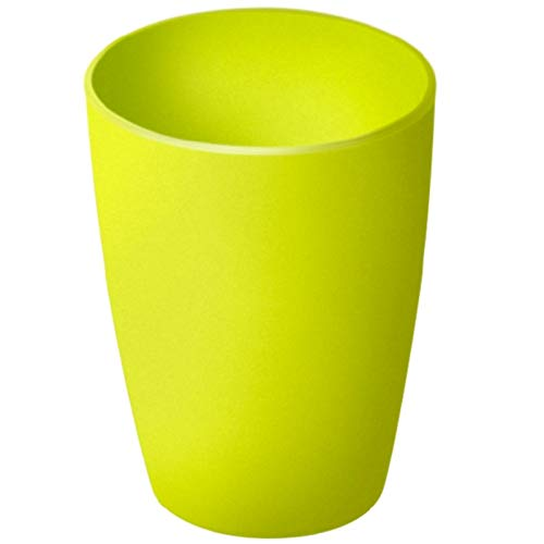 Rotho Caruba Trinkbecher 0.25l Mehrweg, Kunststoff (PP) BPA-frei, grün, 0,25l (7,8 x 7,8 x 9,5 cm)