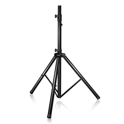 DREAMADE Boxenständer Höhenverstellbar von 97-181cm, Lautsprecherständer belastbar bis 50kg, Boxenstativ
