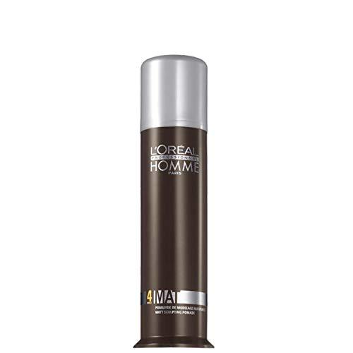 L'Oréal Professionnel - Crème de Coiffage pour Homme - Finition Mat - Homme by L'Oreal Professionnel Matt - 80ml