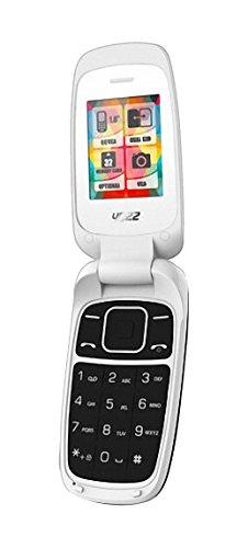 Yezz Yezz C50 Bar Phone Teléfono Móvil, Dual SIM, Color Blanco [Italia]