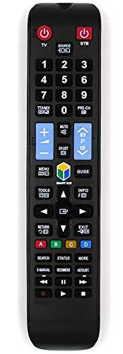 Ersatz Fernbedienung for Samsung TV UE40F6200AKXKZ UE40F6200AKXR UE40F6200AW UE40F6200AWXXH UE40F6270 UE40F6270SS