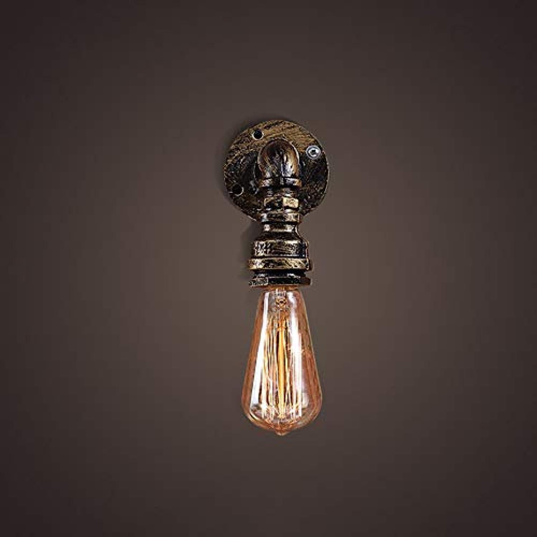 ATR Loft Retro Industrial Wind Bar Kaffee Restaurant Schlafzimmer Wasserleitung Wandlampe Gre  90  150mm A ++ (Farbe  Bronze)