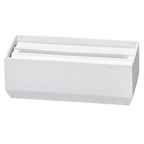 イデアコ イデアコ ペーパータオルボックス トレル110 ホワイト マット
