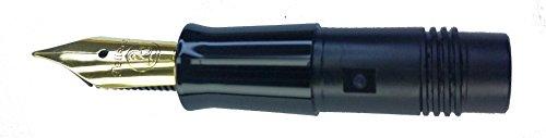 Pelikan 950410 - Penna stilografica P200 / parte anteriore, placcata oro EF extra fine.