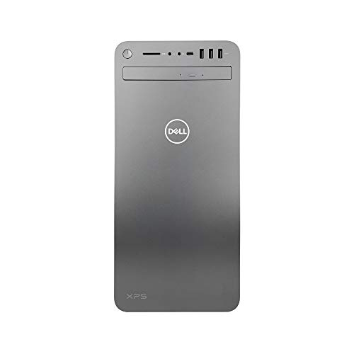 Dell XPS 8930 Special Edition Tower Desktop - 9th Gen Intel 8-Core i9-9900K CPU up to 5.00 GHz, 64GB Memory, 1TB SSD + 2TB HDD, NVIDIA GeForce GTX 1050Ti 4GB GDDR5, DVD Burner, Windows 10 Home, Silver