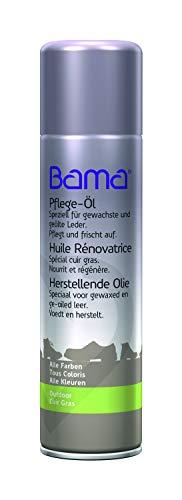 Bama Unisex Renovating Oil Schuhpflegeprodukt, Neutral, 250 ml