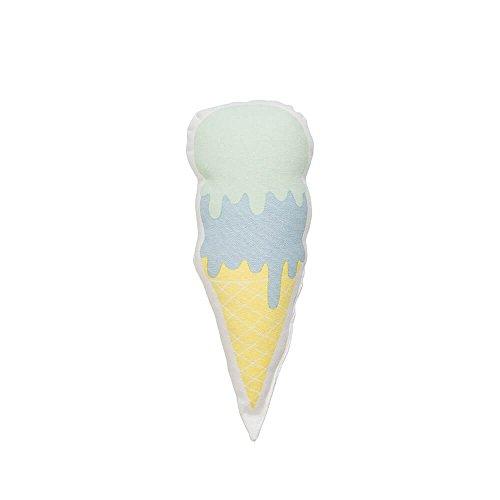 Bloomingville Zierkissen Eistüte mint klein