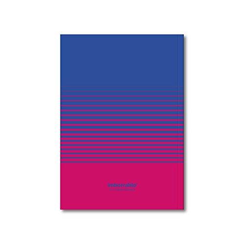 Imborrable Líneas - Cuaderno para zurdos, 144 páginas, A5, 14.8 x 21 cm