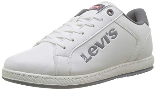 Levi's Declan L, Zapatillas Hombre, Blanco