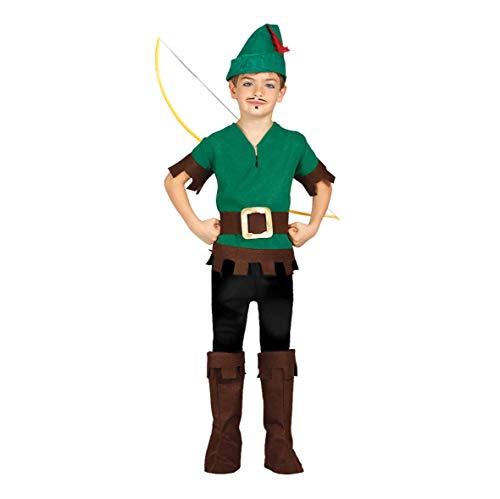 Guirca Costume Robin Hood 7/9 Anni, 7-9, FG81242