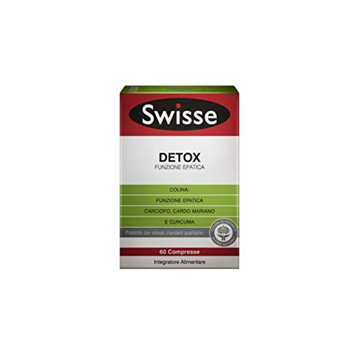 Swisse Ultiboost Detox Funzione Epatica, Integratore Alimentare , 60 Compresse