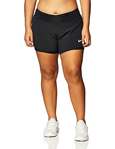 Nike Eclipse 2In1 Shorts Black/Reflective Silv L