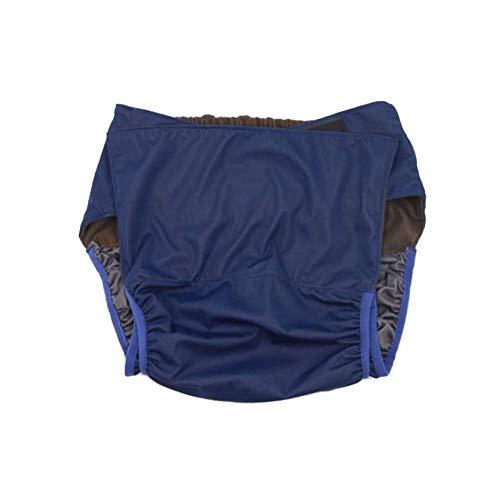 GHzzY Wiederverwendbare Windeln für Erwachsene für Frauen und Männer - wasserdichte Stoffwindel für Jugendliche und Erwachsene - Waschbare Inkontinenz-Slips - Einheitsgröße(2Pack)