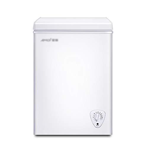 Minikühlschrank Mini-Kühlschrank Auto Kühlschrank Vertikal Gefrierschrank for Gewerbe Kühllagerschrank Energiesparende Mini Single Door Kühlschrank (Color : Silver, Size : 52.5 * 41.2 * 75cm)